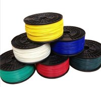 Wholesale 3D Printer Filament plastic ABS mm mm Consumables Material kg roll for d printer extruder Muticolor Rubber Consumables Material
