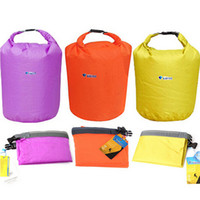 Wholesale 20L Portable Waterproof Bag Storage Dry Bag for Canoe Kayak Rafting Sports Orange Purple Yellow Outdoor Travel Kits