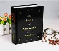 Wholesale 2016 Hot Sale The Book Of Answers English Book Chinese Version The Book Of Answers