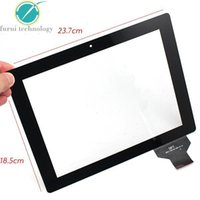 """Wholesale Coby Screen - 9.7"""" inch Capacitive Touch Screen Digitizer 300-L3312A-A00-V1.0 ,COBY KYROS MID9742 touch panel Free shipping ,Black"""