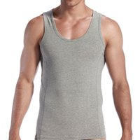 Wholesale Men Running Vests Quick Dry Athletic Fit Outdoor Sports Sleeveless Shirts Top Male Sauna Training Undershirts