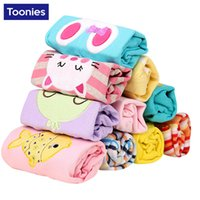 Wholesale 5 Pieces Kids Trousers Baby Cotton Pants Cartoon Cute Korean Children Clothing Boys Girls leggings Spring Autumn Infant Clothes M M