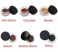 Wholesale 2016 Dip brow Pomade Waterproof Eyebrow Enhancers g Oz Full Size NEW colors In Stock