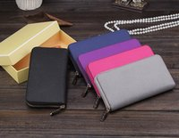 Wholesale High Quality Famous Brand Women Wallet Cion Purse Clutch Lady Bag PU Leather Purse with logo