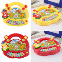 Wholesale Baby Kids Musical Educational Piano Animal Farm Developmental Music Toy High Quality