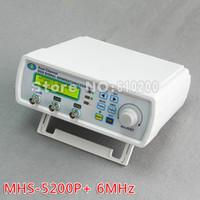 Wholesale MHS P Digital Dual channel DDS Signal Generator Arbitrary waveform generator Function signal generator MHz Amplifier MHz