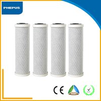 Wholesale PHEPUS Pack High Quality and Reasonable Price inch inch CTO Filter Activated Carbon Block Filter with Coconut Shell Carbon materials