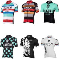 bianchi - 2016 bianchi cycling jersey man short sleeve jersey sets factory direct sales summer is_customized bianchi jersey size xxxL