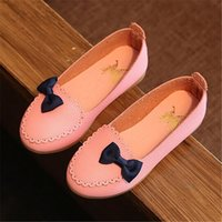 beautiful dmx - Girls shoes new fashion girls fashion super beautiful lace bow princess shoes of good quality comfortable breathable children shoes HD145