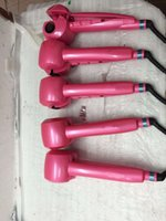 Wholesale Black Color Stocking Bab lissy Brand new hot sale pink color Ceramic Hair Styling Curling Iron Flat Iron Profession Women Curler