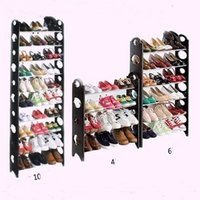 Wholesale 50 Pair Tier Shoe Tower Rack Organizer Space Saving Shoe Rack Stainless Steel