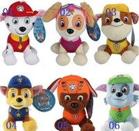 Wholesale 200pcs New CM Patrol Plush Toys Children Kids Plush Dolls Dog Stuffed Toy Fireman Sam