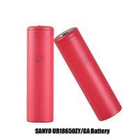 sanyo - Authentic SANYO UR18650ZY GA Battery mAh V Li ion Rechargeable Battery for thread Box Mod