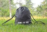 Wholesale Sunland Waterproof Drawstring Sackpack Backpack Gym bag Sports Bag Travel Bag Blue Black and Red Pieces