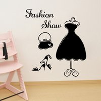 bedroom chests - Fashion show wall stickers Chest stick stick window Indoor wall post Personality wall stick