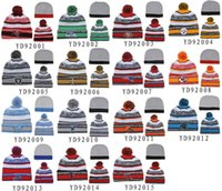 best winter hats - New Beanies All Teams Pom Pom Beanies Team Hat Winter Caps Popular Beanie Caps Skull Caps Best Quality Sports Caps Allow Mix Order
