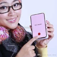 Wholesale New Guaranted ABS Mini Heater Portable Heater Fan Keep warming