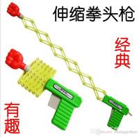 Wholesale Strange new creative children s toys fun children Tricky Funny whole person evil to spread the goods gift telescopic gun