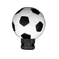 Wholesale Football Shape Gear Shift Knob Soccer Ball Style Shifter Knod Lever For Car Truck