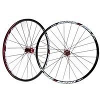 Wholesale 26 Disc Brake Bike Bicycle Wheel Lightweight MTB Mountain Bicycle Bike Wheelset Hubs V Rim Front Rear Set