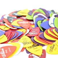 Wholesale In Business Acoustic Electric Guitar Picks Matte ABS Antiskid Antislip Plectrum Random mixed mm mm mm
