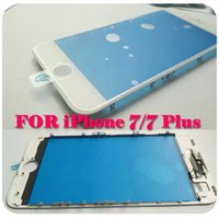 Wholesale Flexiable MOQ DHL FREE For iPhone Bezel Frame with Outer Front Glass Lens Installed For iPhone Plus LCD Screen Repair