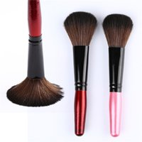 Wholesale New Arrivals Blush Rouge Foundation Brush Face Powder Brushes Makeup Cosmetic Tools Wooden Handle CM IA87