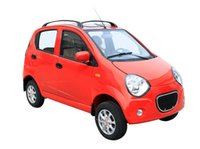 Wholesale Red seater four round of new energy vehicle which is safety and comfortable and convenient
