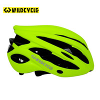 Wholesale Wildcycle Cascos Ciclismo MTB Mtb Bike Helmet Mtb Bicycle Cycling Helmet Cover With LED Lights Capacete Ciclismo Estrada Helmet
