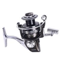 daiwa fishing reels - Metal Body Spinning Fishing Reel Daiwa Style Fishing Gear Full Aluminum Fishing Wheel BB Ratio For Big Fish Never Break