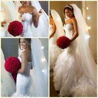 Robes blanches chérie volants de mariage France-Robe de Mariée en Satin Robe de Soirée en Satin