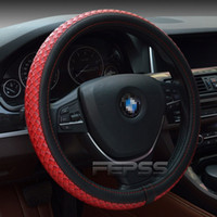Wholesale Hot style selling car steering wheel covers driver gm set of leather