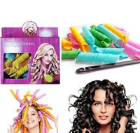Wholesale 50 Sets DIY MAGIC LEVERAG Magic Hair Curler Roller Magic Circle Hair Styling Rollers Curlers Leverag perm set In stock