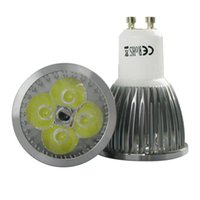 Wholesale 4 x GU10 W Non Dimmable LED SMD Spot Light Bulbs White High Power Light Lamp lm VAC