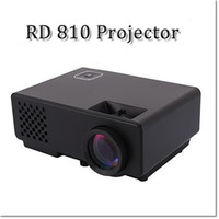 Wholesale RD Mini LED Projector Lumens Full HD P Proyector DLNA Miracast Display USB VGA Input Home Cinema Video Projector