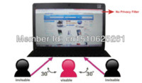 Wholesale 13 quot Laptop Anti Glare Privacy Screen Protector For Mac Book Pro13 inch With Retina Display LCD Monitors
