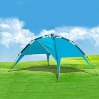 Wholesale Automatic Families Camping Tents Shelters High Quality Cheap Oxford Cloth Outdoors Tents for Family Door Season