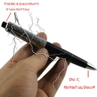 Wholesale Teaser Electric Shocker Toys Shock Pen Utility Gadget Gag Joke Funny Prank Trick Novelty Gift