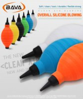 Wholesale BAVA overall high quality silicone clean air blowing Super soft and strong wind Dust Blower Choice of six colors