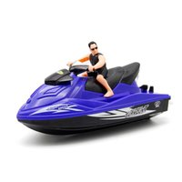 Wholesale 1 Piece Wireless High Speed Electric Remote Control RC Boat Water Motorboat Remote Control Ship Models Birthday Gift Toy