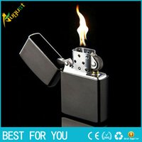 Wholesale kerosene austria oil lighter vintage refillable cigarette lighter tobacco antique flip top