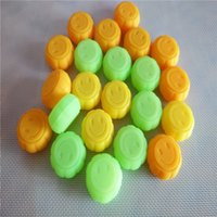 Wholesale 5ml Pumpkin Silicone Jars Dab Wax Container Non stick Silicone Ball For Wax Bho Oil Vaporizer OD36 H18mm