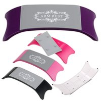 Wholesale Brand New Plastic Silicone Cushion Pillow Salon Hand Holder Nail Art Arm Rest Manicure Choose