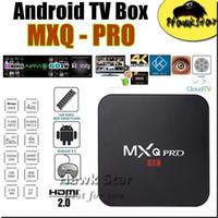 Wholesale MXQ Pro K Amlogic s905 android GB GB Quad Core kodi fully loaded smart hdmi media player