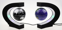 Wholesale Classic Inches Black Magnetic Education Learning Floating Orb Levitating World Map Globe Office Desk Decoration