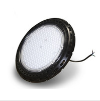 Wholesale 2016 new Super Bright W Round UFO LED High Bay Light Used Philips3030 LED Chip lm W With Meanwell LED Driver