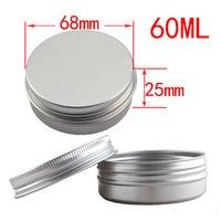 aluminum tea pot - New arrival psc mm g Metal Box ml Aluminum Jar lip gloss Container Tea Multi purpose Storage Pot Box