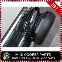 Wholesale Brand New SPOT LAMP FOG LIGHT COVER CAP IN BLACK COLOR xCAP For Mini Cooper R55 R56 R57 R60 F56