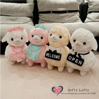 alpaca shop - AM Alpaca plush toys cm Alpacaffe Styles pc Retail kasso cute warm stuffed animals coffee shop openning gifts