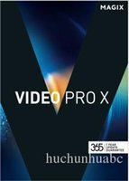 Grand montage vidéo et facile à utiliser / MAGIX Video Pro X8 v15 Version fixe complète 64bit